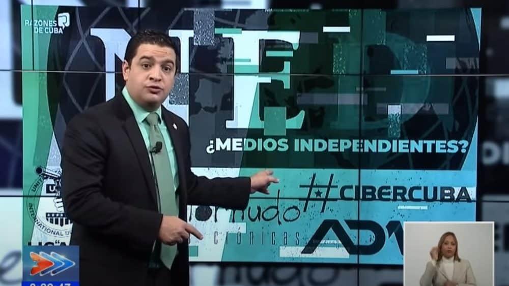Régimen cubano difama a periodistas y medios de prensa independientes sin  dar derecho a réplica