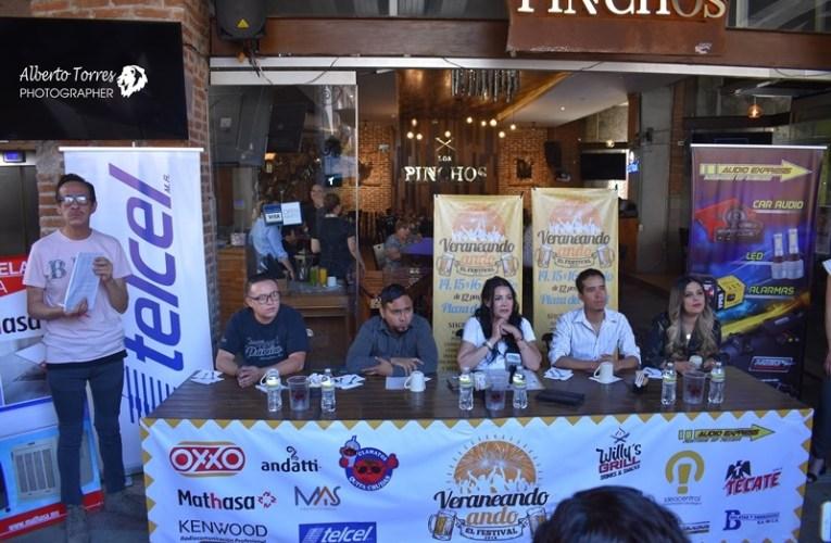 """""""Veraneando ando"""", el festival, es una realidad en Chihuahua y viene para quedarse"""