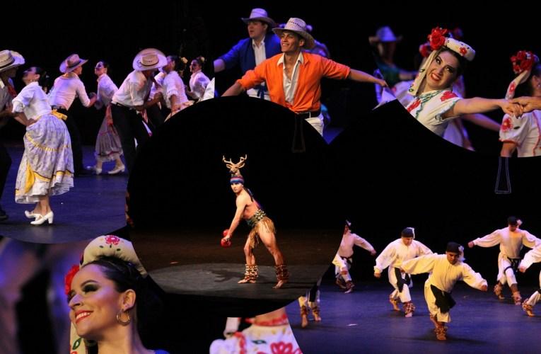 Conquista la Compañía de Danza Folklórica de la UACH el escenario del Palacio de Bellas Artes