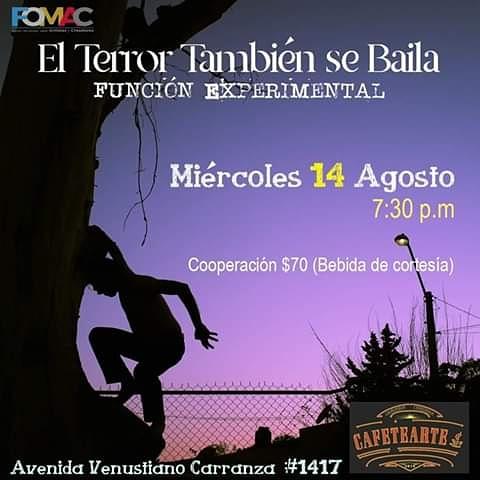 """El Aventón Teatro presenta """"El Terror También se Baila"""" en Cafetearte"""