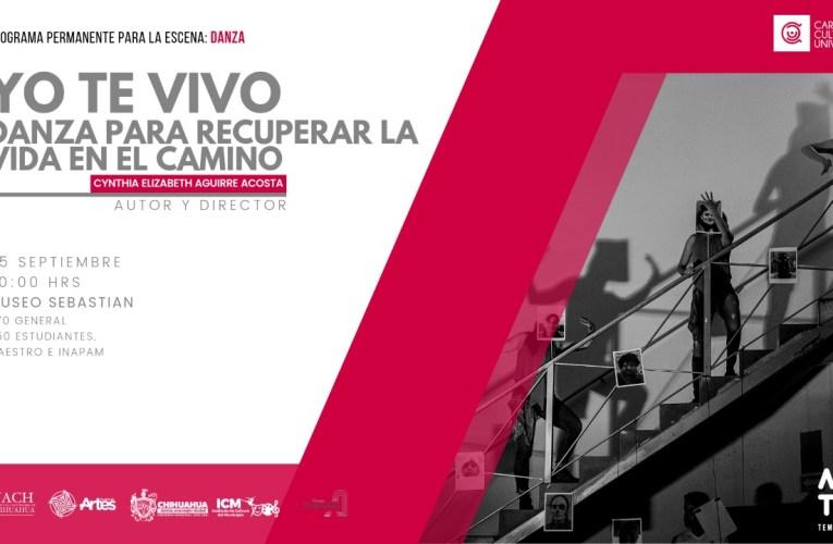 """Llega el espectáculo de danza """"Yo te vivo"""" al Museo Sebastián"""