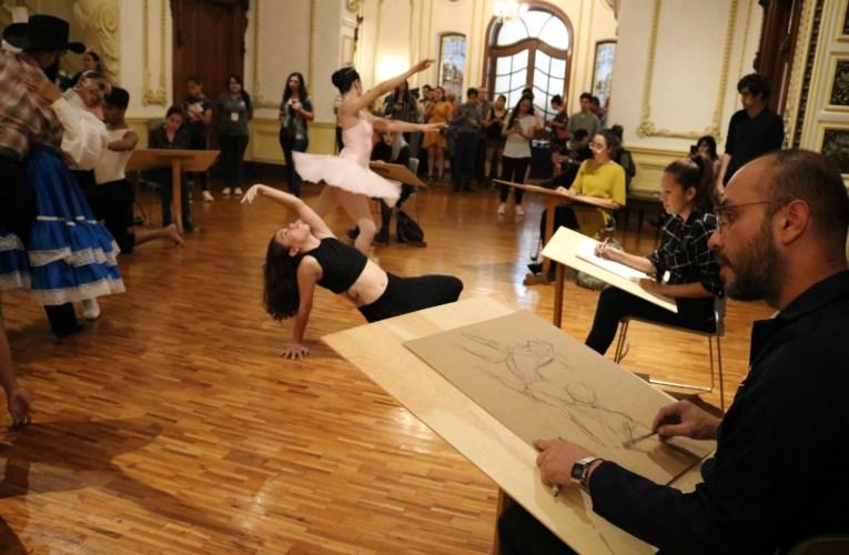 """Presentan exposición """"Movimiento Visual"""" en Quinta Gameros"""
