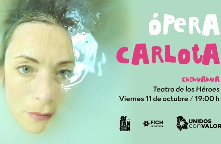 """Se presentará en Chihuahua la ópera Carlota, basada en """"Noticias del Imperio"""" de Fernando del Paso"""
