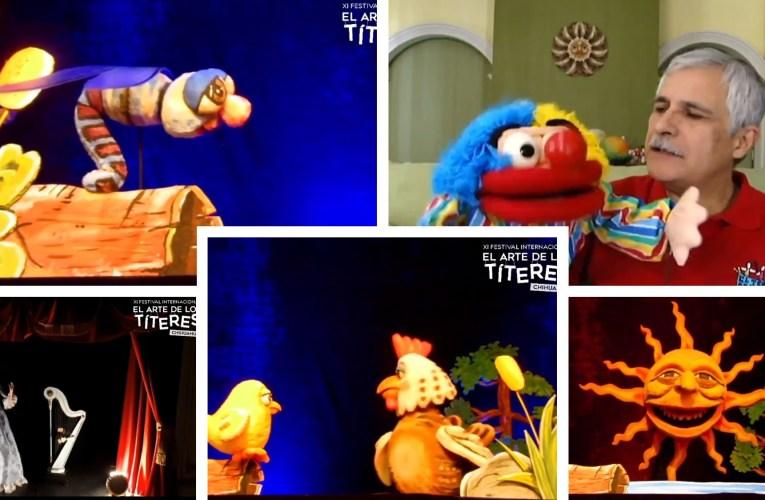 Invita Cultura a disfrutar XI Festival Internacional del Arte de los Títeres por redes sociales