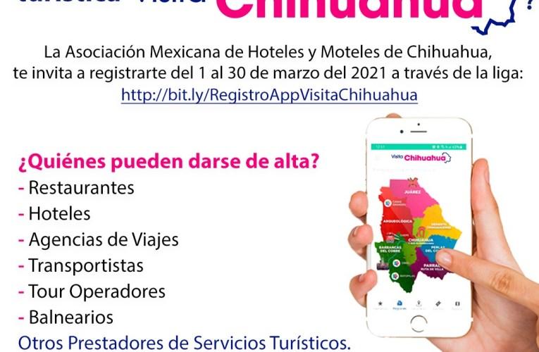 """Aún estás a tiempo de formar parte de la app """"Visita Chihuahua"""""""