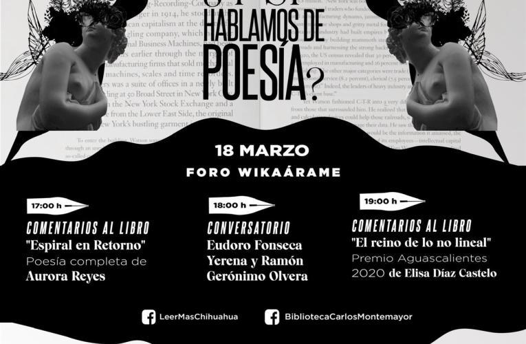 Invita Secretaría de Cultura a la celebración en conmemoración al Día Internacional de la Poesía