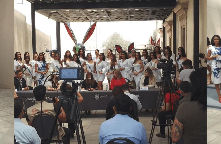 Presentación de las concursantes de Miss México 2021 ante medios de comunicación