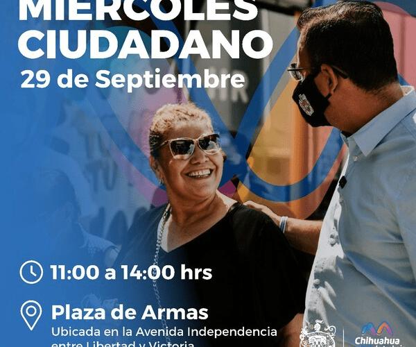 Invita Gobierno Municipal a participar en el primer Miércoles Ciudadano