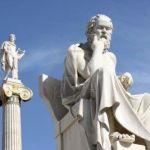 Statuia filozofului grec Socrate