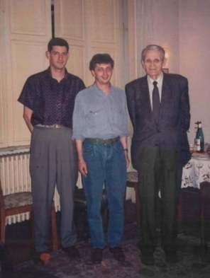 Costin Borc, Vladimir Tismaneanu alaturi de Corneliu Coposu