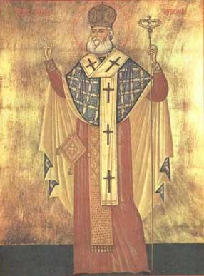 Sfântul Ierarh Martir Antim Ivireanul, mitropolitul Tarii Românesti.