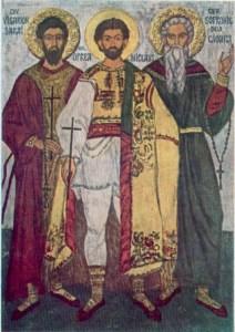 Cuv. Mărt. Visarion, Sofronie şi Sf. Mc. Oprea; Sf. Pr. Mărt. Ioan din Galeş şi Moise Măcinic din Sibiel; Cuv. Ilarion cel Mare