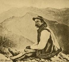 cioban goral din muntii tatra
