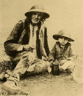 goral cu fiul