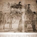singura imagine ramasa de la Inmormantarea lui Mihai Eminescu