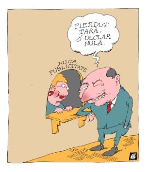 interesul politic caricatura