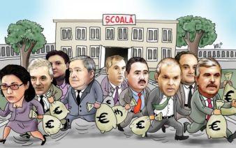 viclenia politicienilor caricatura