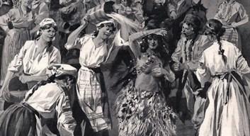 Paparuda si ritualul paparuda sensul miticmagic de provocare a ploii
