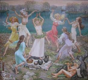 dansul fetele paparude