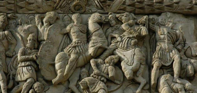 detaliu arcul lui Galerius Tesalonic