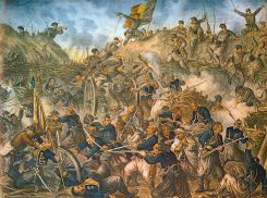 trupele romane la Grivita 1877