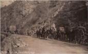 1916 armata romana trece prin defileul surduc