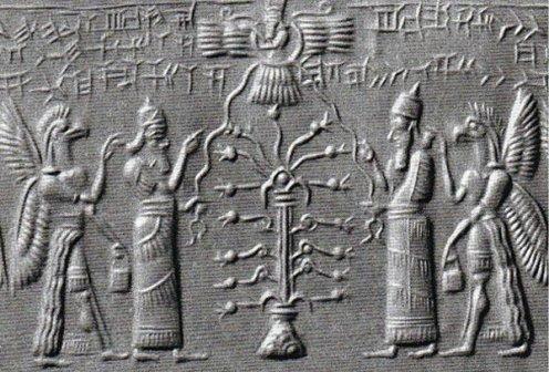 mit Sumerian reprezentand ascensiunea