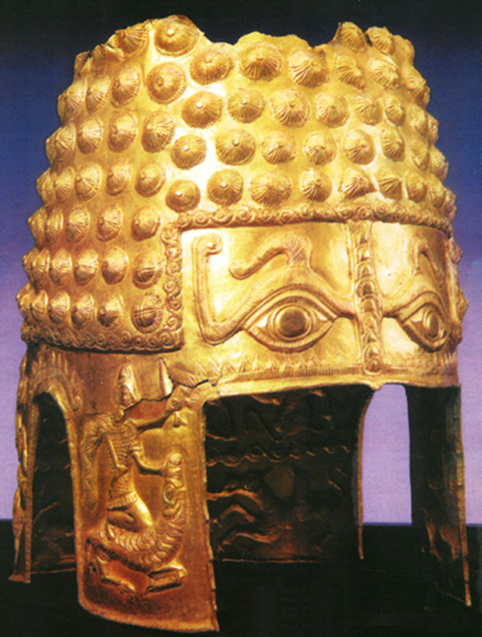 Coiful de aur descoperit la Cotofenesti