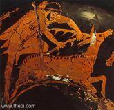 Herakles capturarea ciutei Cerynitiană