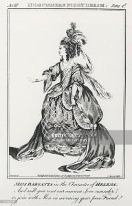 domnisoara Barsanti in rolul Helen