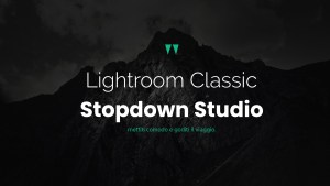 Lightroom Classic con Stopdown Studio#3