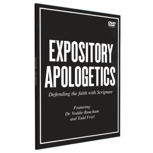 Expository Apologetics DVD