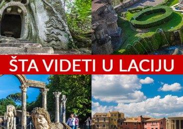 Šta videti u Laciju – upoznajte regiju čiji je glavni grad Rim [INTERAKTIVNA MAPA]