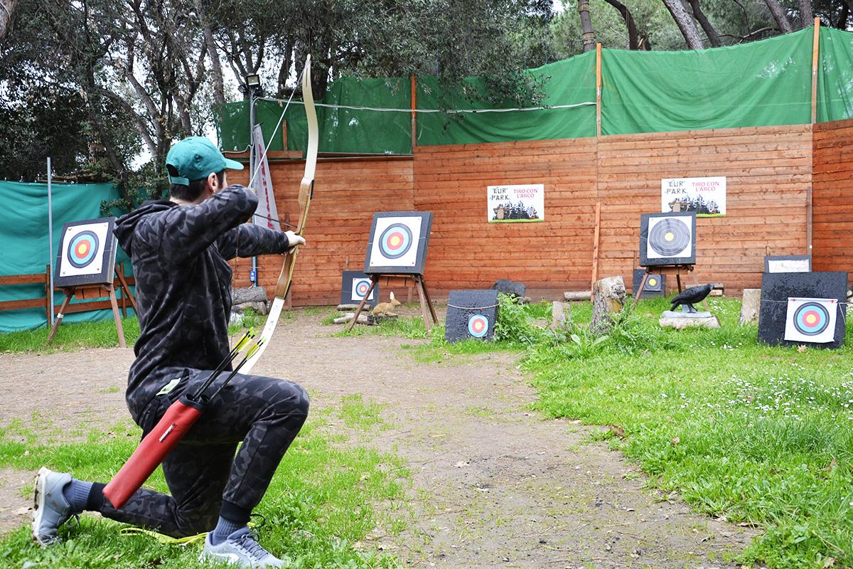 Luk i strela, pa kud puklo - da puklo! (foto: www.eurpark.it/Facebook @eurparkadventure)