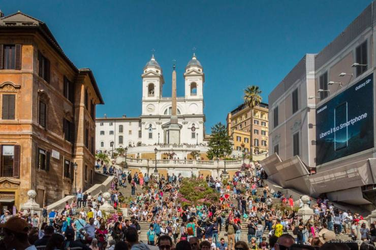Španski trg (foto: Vodič kroz Rim)