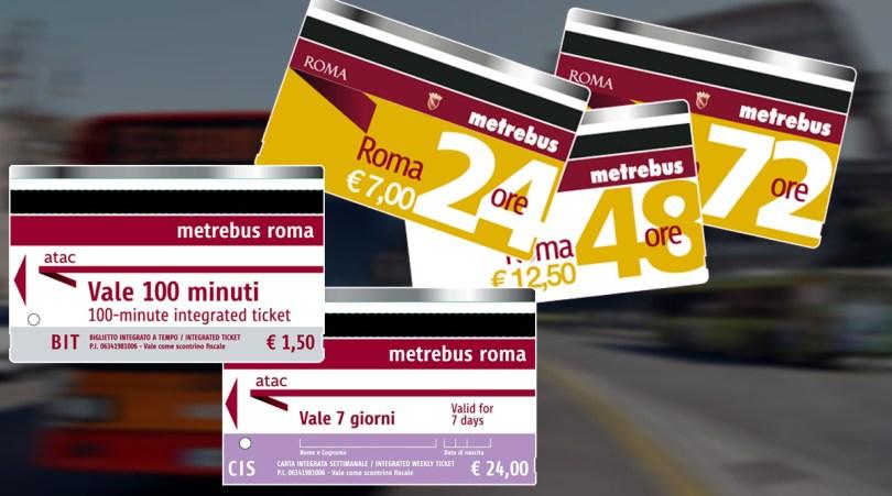 Gradski prevoz Rima - karte