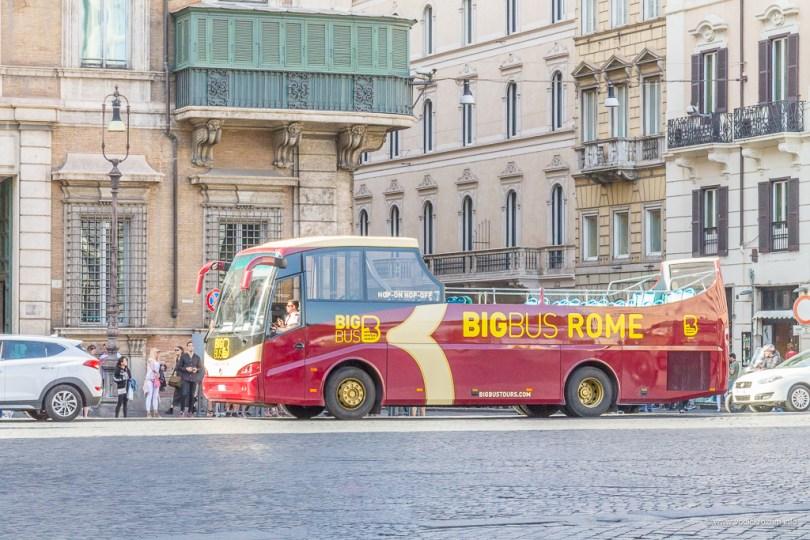 Big Bus Rome panoramski autobus Rim