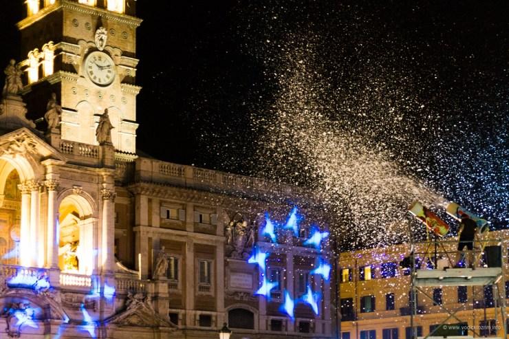 Leto u Rimu, manifestacija Madonna della Neve (foto: Vodič kroz Rim)