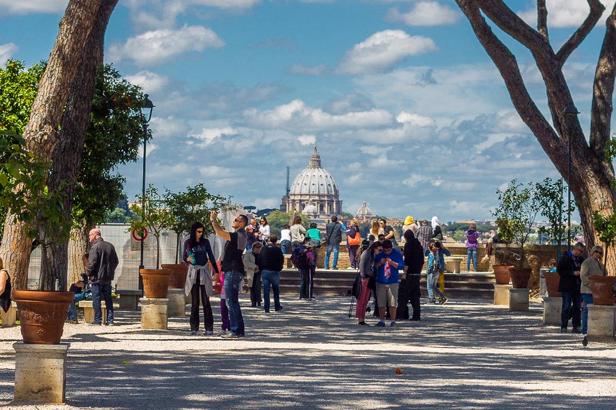 Park pomorandži (foto: Vodič kroz Rim)