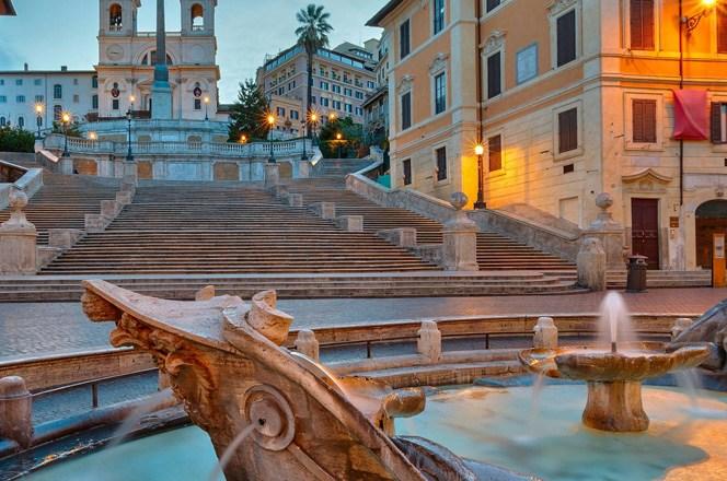 """Španski trg – kad se kaže """"Praznik u Rimu"""""""