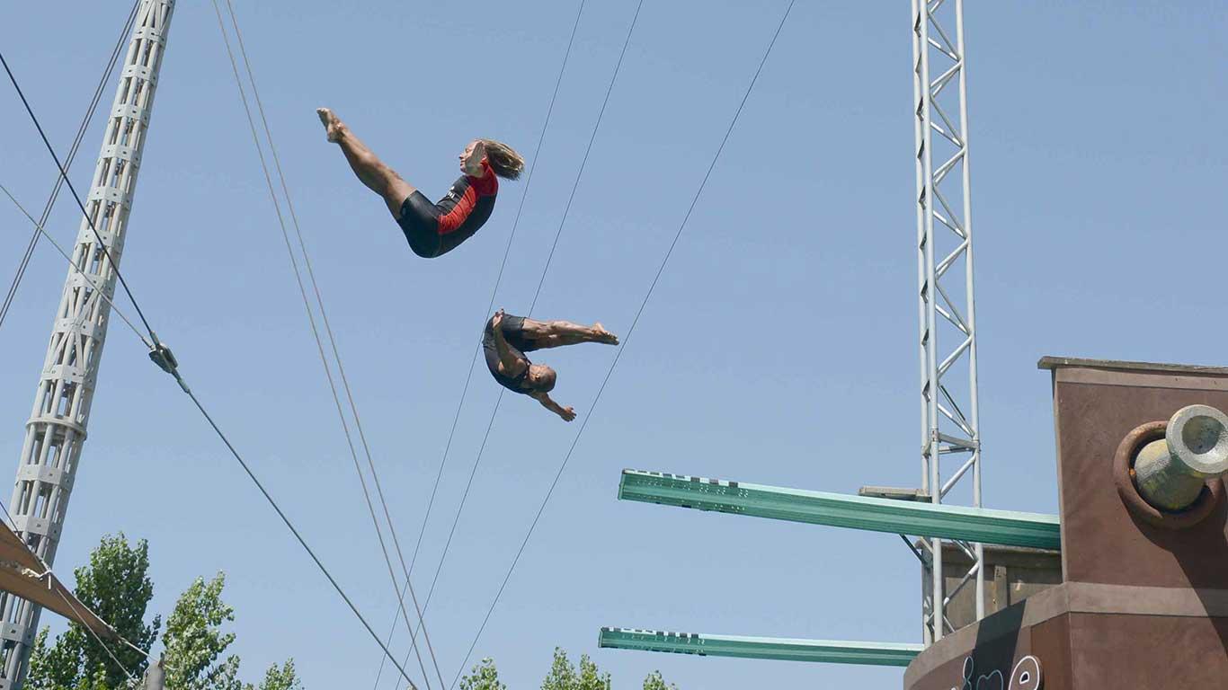 Zoomarine Rim - skakanje u vodu (foto: www.zoomarine.it)