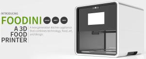 Foodini 3D voedselprinter | 3D voedselprinter komt