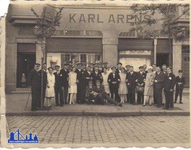 1920er: Cafe Karl Arens © Strempel