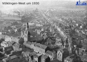 Völklingen um 1930