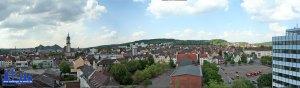 Panoramablick über die Stadt - Danke an die FFW Völklingen, die diesen einmaligen Blick ermöglicht hat! © Andreas Hell Bild anklicken für Großansicht!