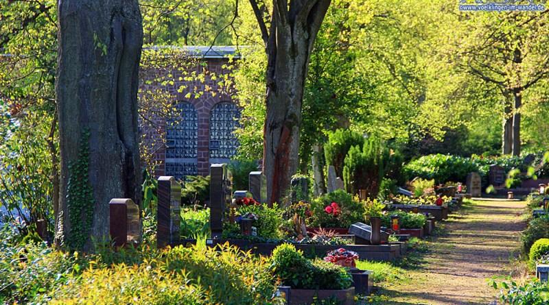 Der Völklinger Friedhof (Foto: Hell)