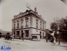 Das Haus Günther in der Poststraße um 1910