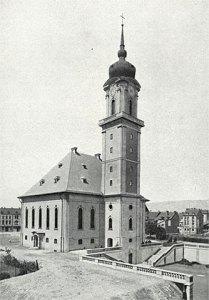 Die Versöhnungskirche, eingeweiht 1928 (Foto: ca.1928)