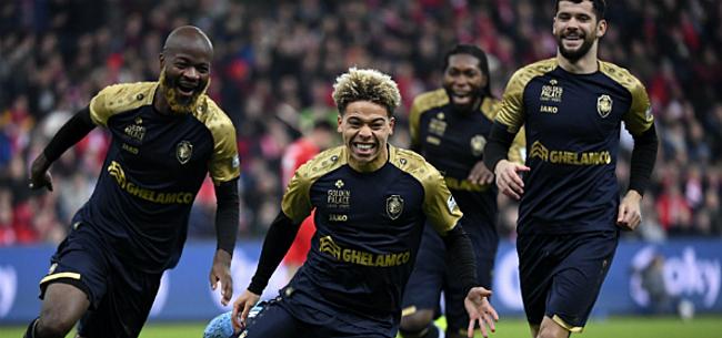 Foto: Sterk Antwerp knokt zich op Sclessin naar halve finales