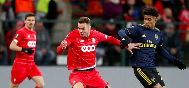 Foto: Standard geeft dubbele bonus en kwalificatie uit handen tegen Arsenal